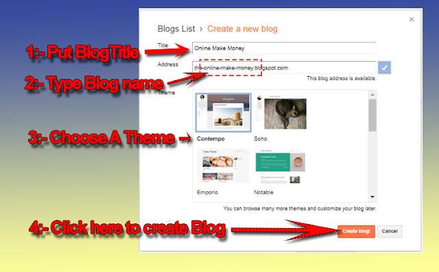 How to Create a blog on Blogger | Simple Solution