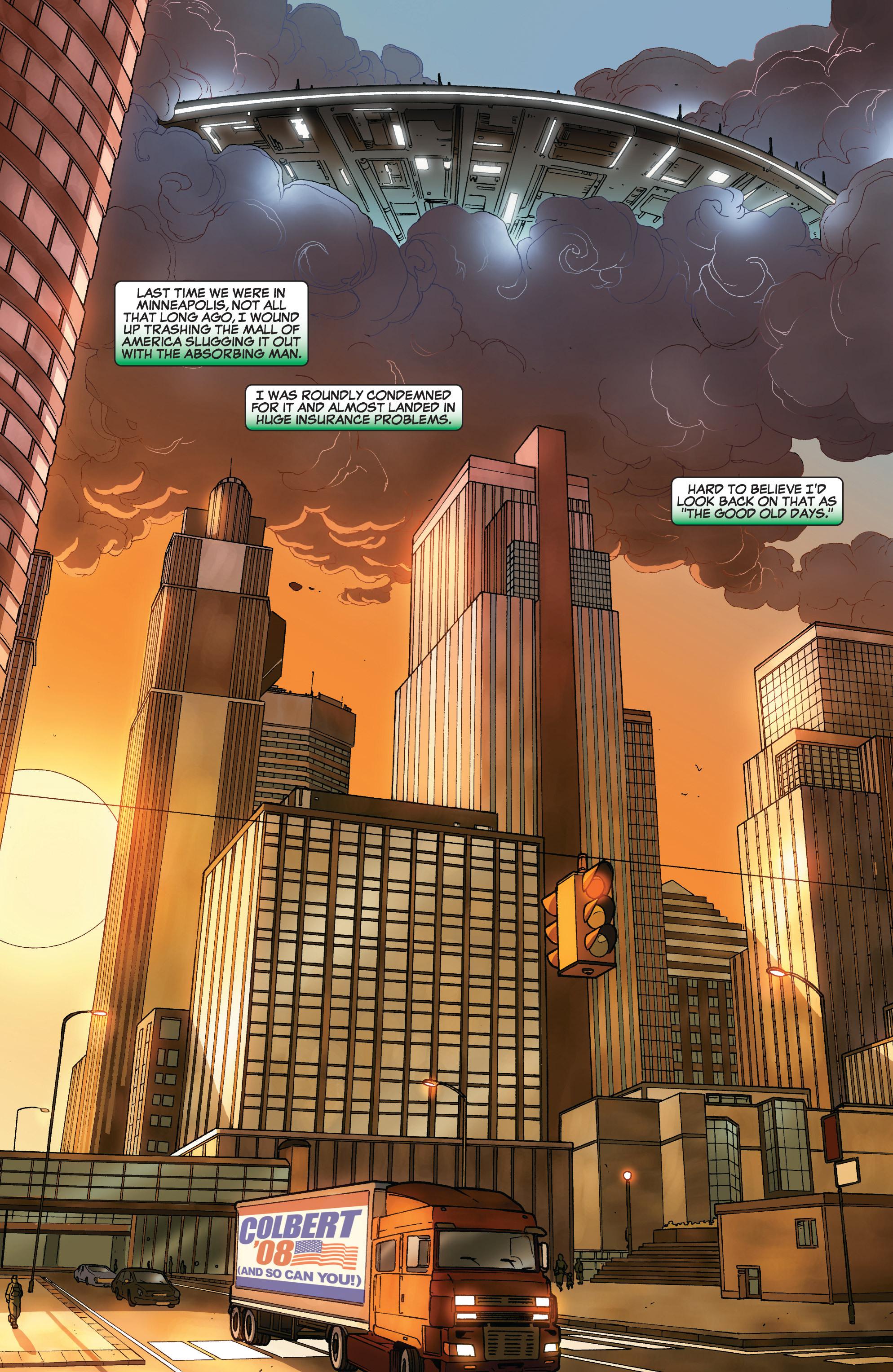 Read online She-Hulk (2005) comic -  Issue #32 - 3