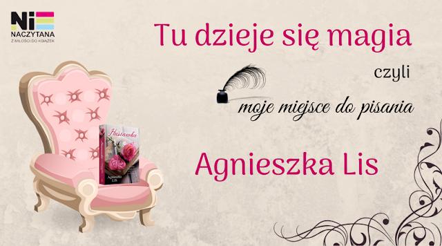 """TU DZIEJE SIĘ MAGIA, czyli moje miejsce do pisania - AGNIESZKA LIS - """"HUŚTAWKA"""""""
