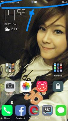 Status Bar Xiaomi Redmi Note 3 Kamu Ingin Seperti iOS Jamnya Di Tengah? Praktekkan Tutorial Ini 100% Berhasil