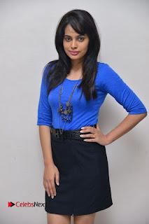 Actress Nandita Swetha Stills in Black Mini Skirt at Ekkadiki Potavu Chinnavada Movie Special Show  0052.JPG