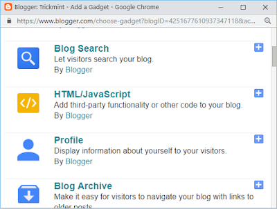 Add subscribe button to blogger