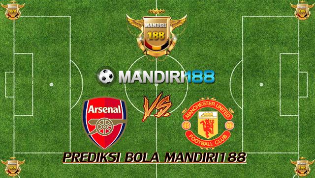 AGEN BOLA - Prediksi Arsenal vs Manchester United 3 Desember 2017