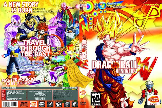 Capa Dragon Ball Xenoverse PC