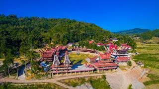 Struktur Bangunan Tongkonan Toraja