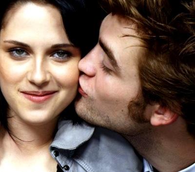 Foto de Kristen Stewart feliz con muestra de amor de Robert Pattinson