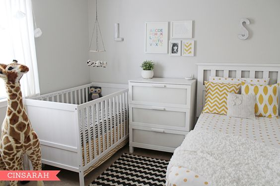 Rent austin apartments 14 ways to set up a nursery in a for Ways to set up a small bedroom