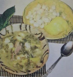 Cocina Ecuatoriana - Caldo de Novios