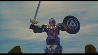 Saban Turbo A Power Rangers Movie Megazord