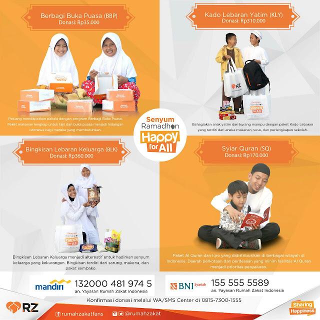 Mari Berbagi Bahagia di Bulan Ramadhan
