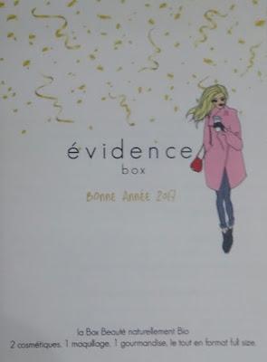 La box Evidence !