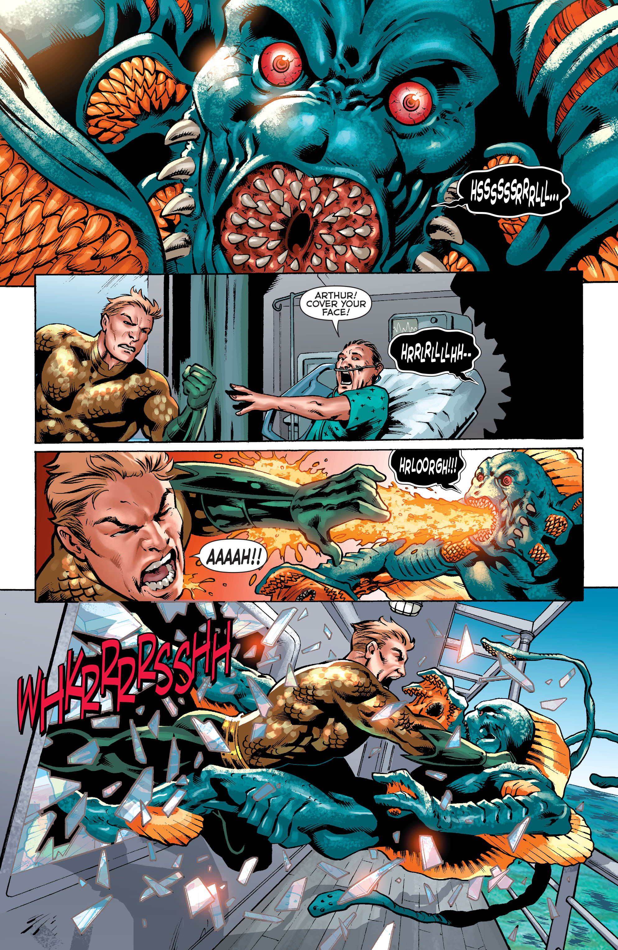 Read online Aquaman (2011) comic -  Issue #34 - 2