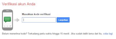 verifikasi akun gmail