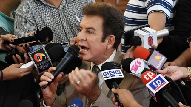 Nasralla rechaza respaldo de EEUU al fraude electoral en Honduras