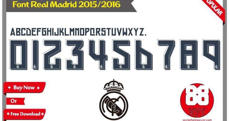 Get Real Madrid Font Free Download Pics