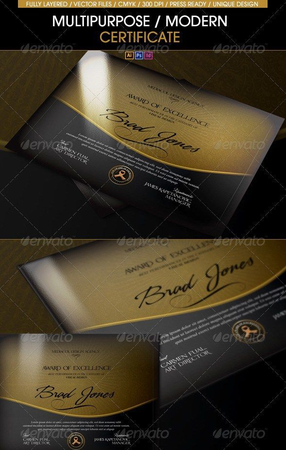 21 awesome certificate templates in psd ms word vector eps formats multipurpose modern certificate template all formats yadclub Image collections