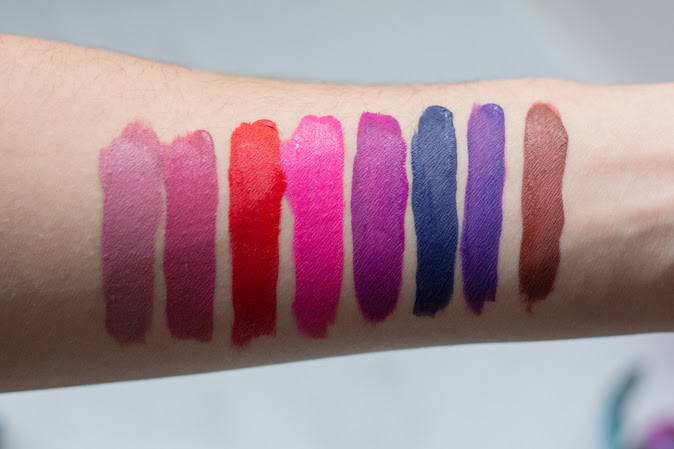 Kat Von D Everlasting Mini Liquid Lipstick Set review with Swatches