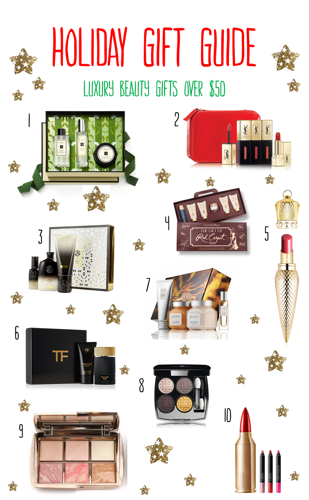 Holiday Gift Guide | Luxury Beauty Gifts Over $50