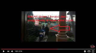 maling motor tertangkap warga