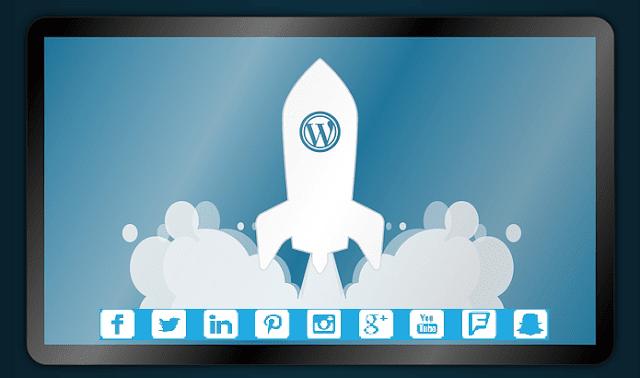 launch digital marketing wordpress blog bootstrap business