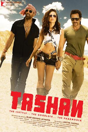 Poster Of Hindi Movie Tashan 2008 Full HD Movie Free Download 720P Watch Online