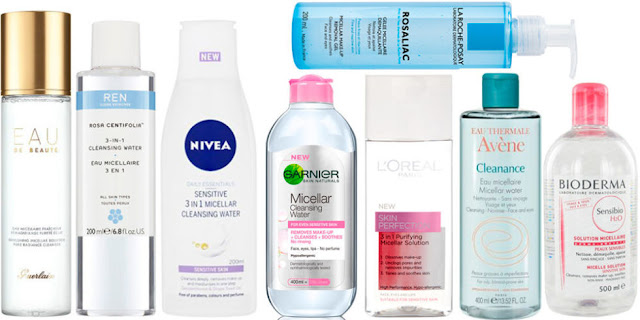 micellar water, brands, best, top micellar water, bioderma, garnier, la roche posay, nivea, simple