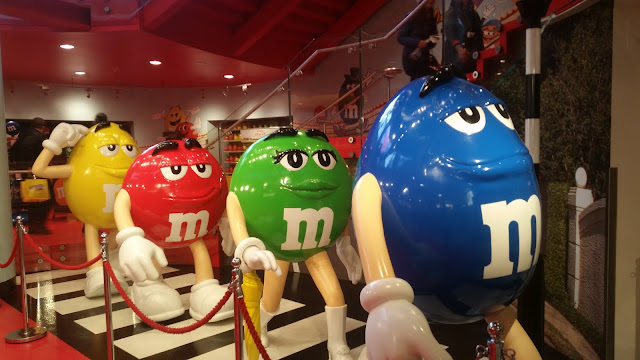 Sightseeing mit Kind: M&M store am Leicester Square