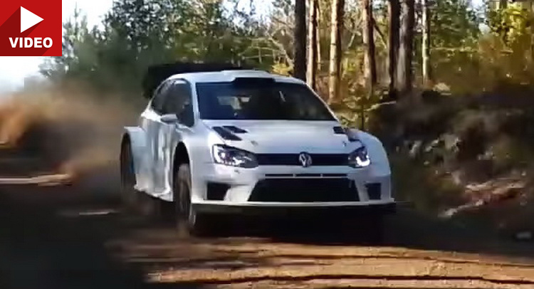 watch marcus gronholm testing 2017 spec vw polo r wrc. Black Bedroom Furniture Sets. Home Design Ideas