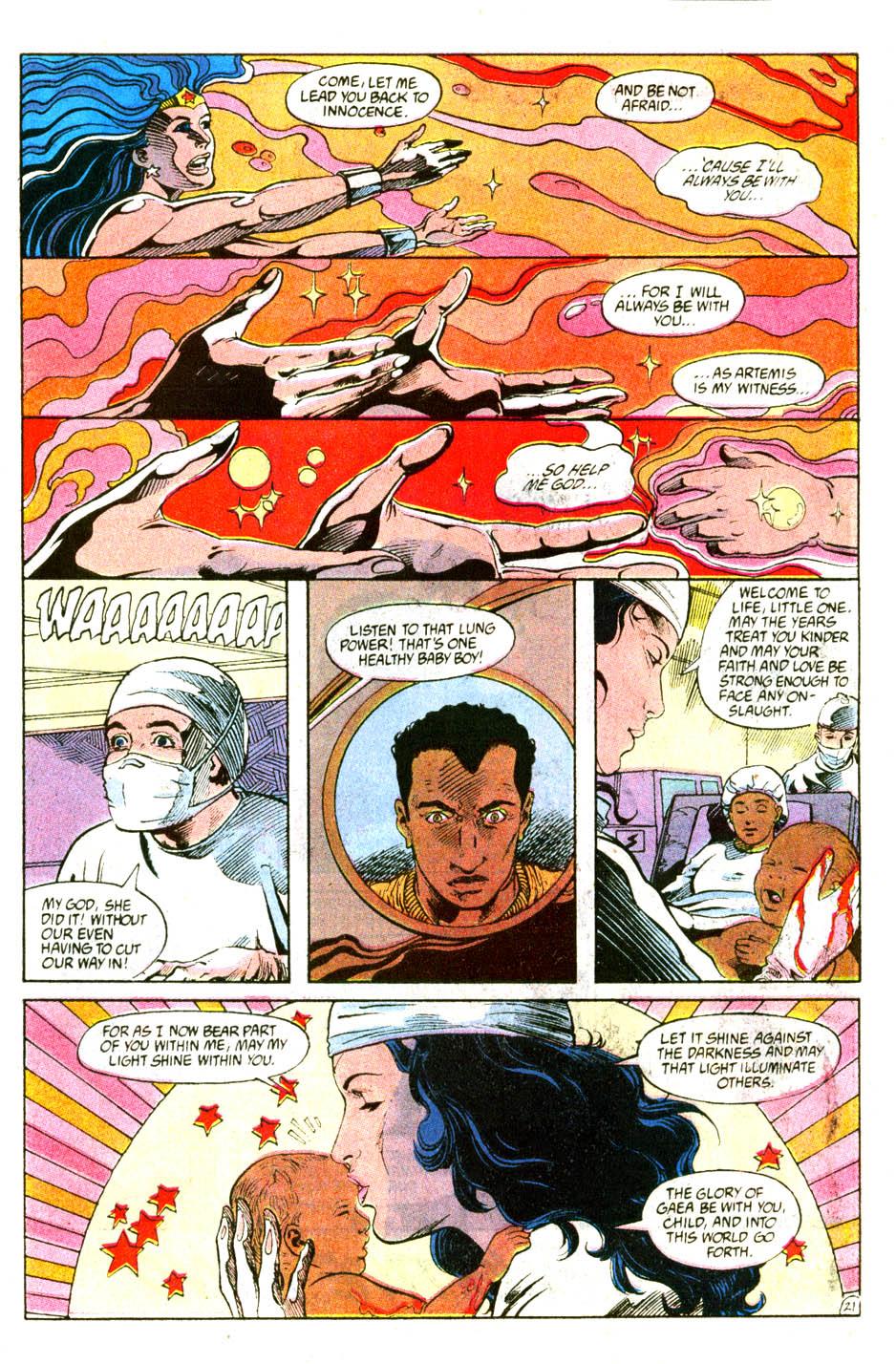 Read online Wonder Woman (1987) comic -  Issue #56 - 23