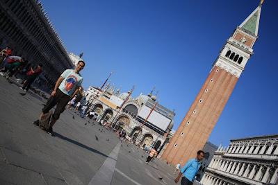 San Marco Basilica and Campanile in Venezia