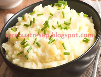 Foto Resep Kentang Tumbuk Keju (Mashed Potatoes) Sederhana Spesial Asli Enak