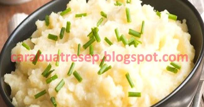 Resep Mash Potato Praktis Sederhana