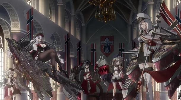 Game Azur Lane Akan diadaptasi Ke Serial Anime