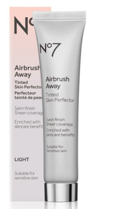 no7 airbrush away tinted skin perfector