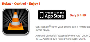 VLC Android Remote