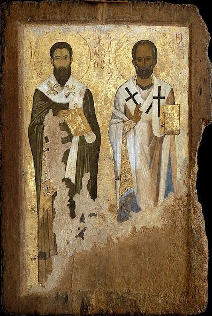 Saint Basil & Saint Nicholas