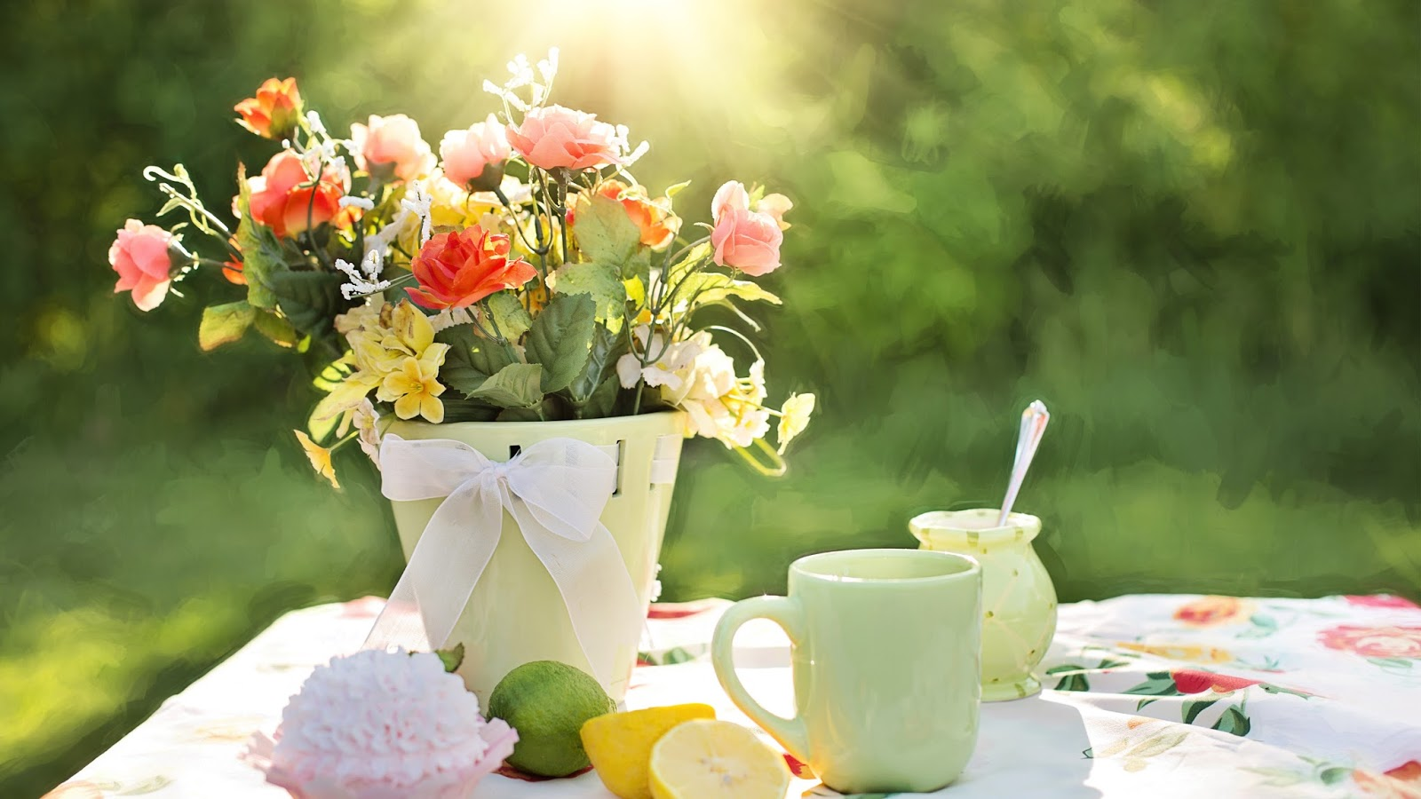 Summer Beautiful Flowers HD Wallpaper