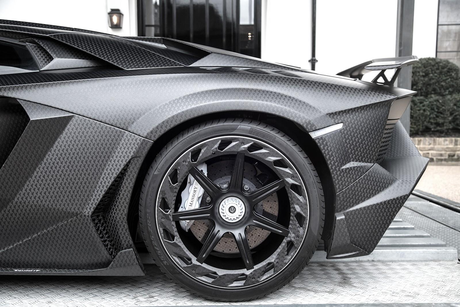 Mansory Unveils Custom Lamborghini Aventador Sv For