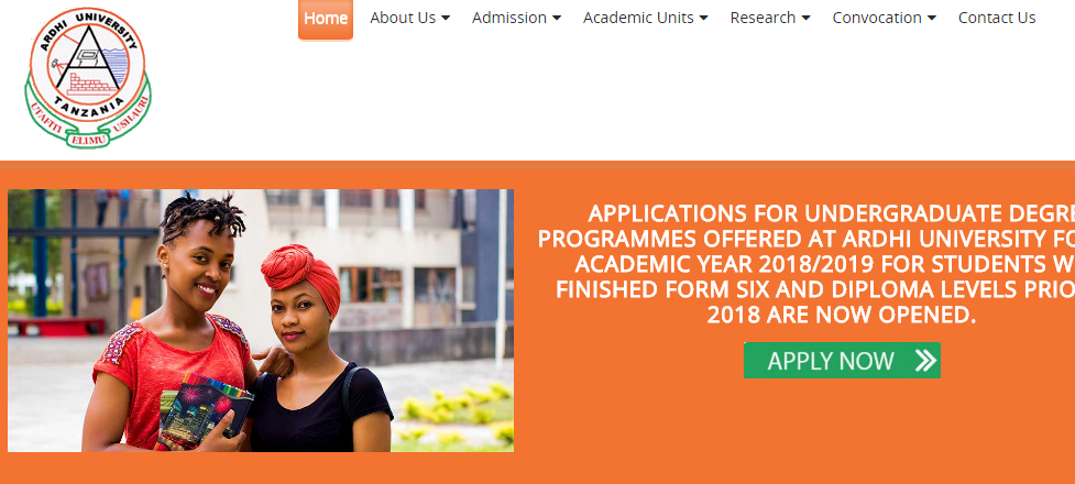 Ardhi University: Download Application Forms For Academic Year 2018 on