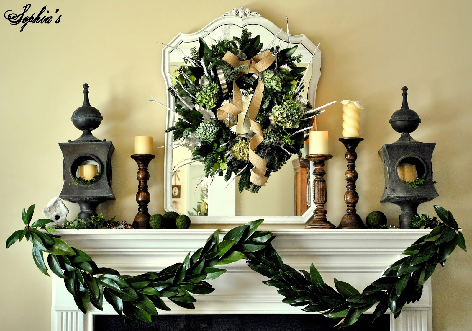 Sophia s  How to Make a Garland with Magnolia Leaves