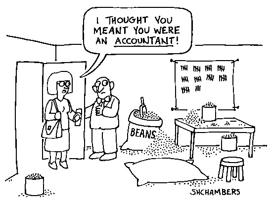 Accountant Lamp Picture: Accountant Humor