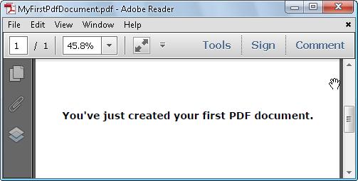 VB Net Print PDF Document