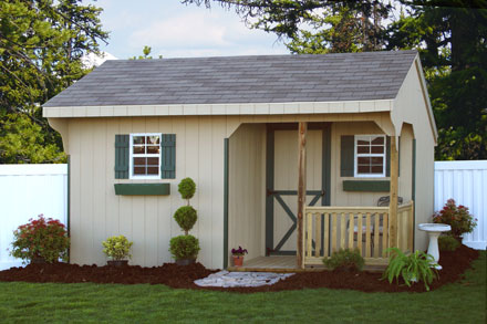 Amish Built Storage Barns And Sheds