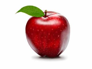 Gambar Buah Apel Merah Yang Segar
