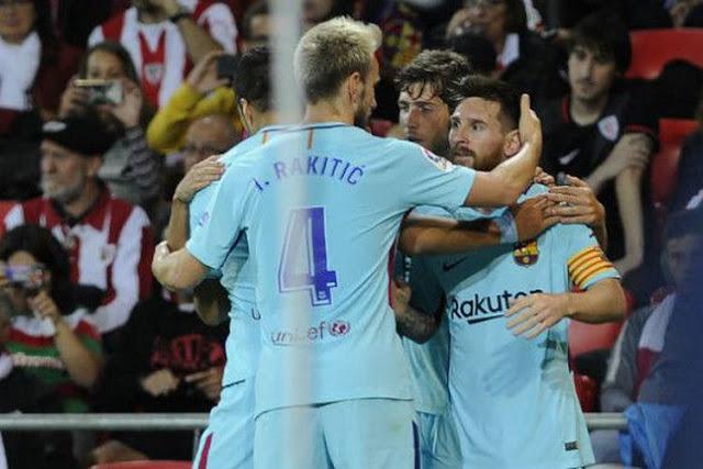 """Valverde Bebaskan Messi dari """"Penjara"""" Trisula Ajaran Cruyff"""