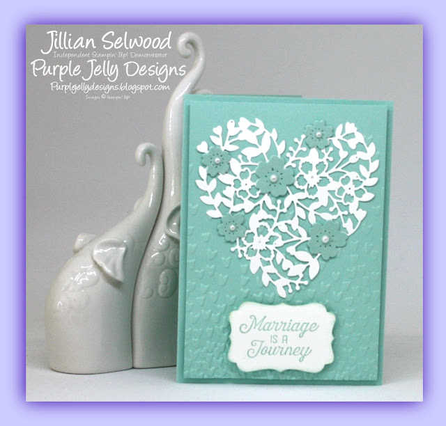 Bloomin' Love thinlet dies, Softly Falling Embossing Folder, Flourishing Phrases stamp set