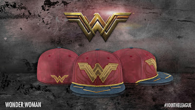 Justice League Movie Character Armor 59Fifty Fitted Hat Collection by New Era x DC Comics - Wonder Woman