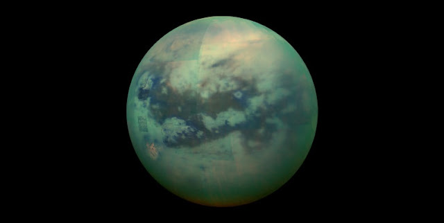 Saturn's moon Titan. Credit: NASA