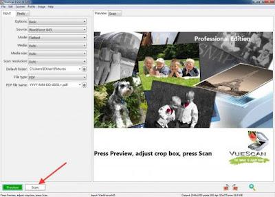 Full software with working keygen, Hamrick VueScan Pro version 9.5.36.