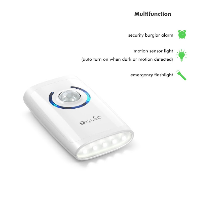 Campanello Wireless OxyLED® D01 4 in 1